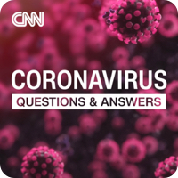 CNN cornavirus podcast logo